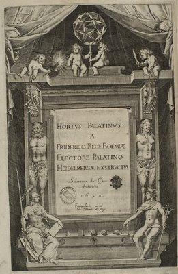 Hortus Palatinus titlepage