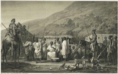 Zerîbah [Wohnung] des Melek Regeb - Adlân zu Hellet - Idrîs am Gebel - Ghûle.