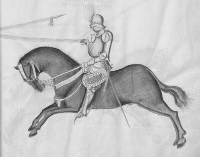 jousting: dark horse