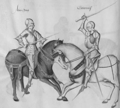 sword fight on horseback technique