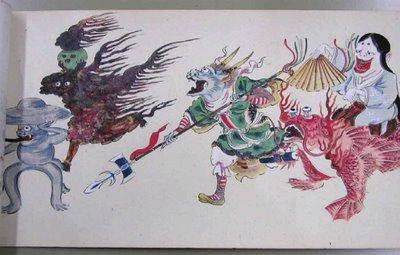 japanese monsters b