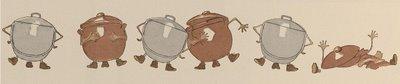 pots arguing