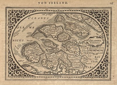 Zeeland map 1631