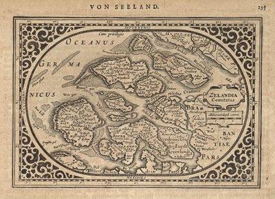 Zeeland map 1631