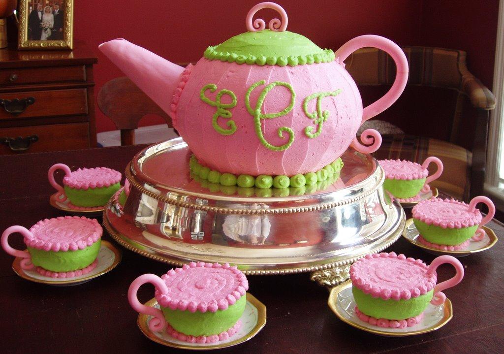 how to make a teacup shaped cake