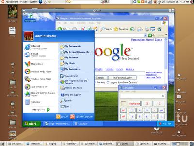Jak spustit Win XP pod Ubuntu ?