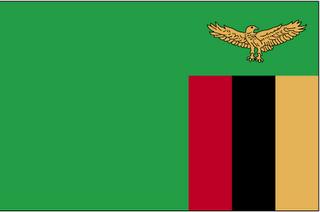 Mapa Zâmbia