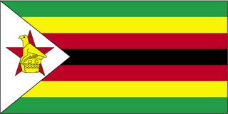 Mapa Zimbabué