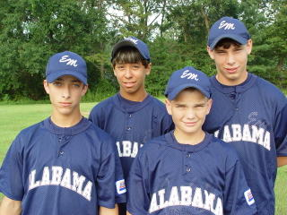 Four Montgomery Catholic Students Play in World Series 1