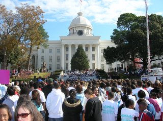 Nearly 200 students march in Montgomery Children's Walk 2