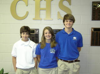Freshman Class Elects SGA Officers for 2005-06 1