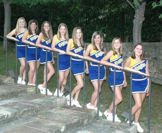 JV Cheerleaders Shine at NCA Camp 1
