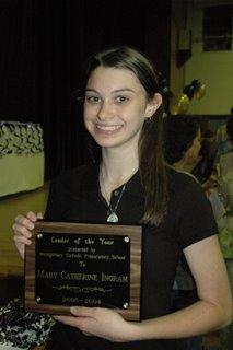 Montgomery Catholic Honors Students at Academic Award Banquet 2