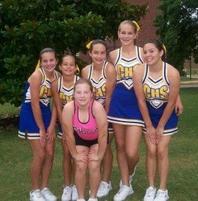 Middle School Cheerleading Squad Sparkles at NCA Camp 2