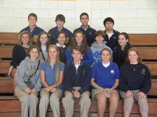 National Honor Society Welcomes 15 New Members 1