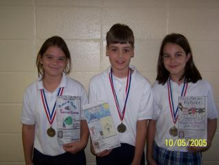 """St. Bede Students Shine in """"Design an Ad"""" Contest 1"""