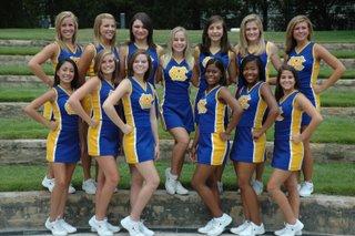 Varsity Cheerleaders Named All-American Team at NCA Camp 1