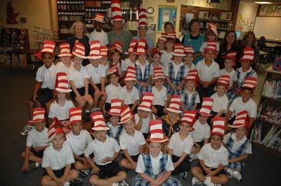 MIX 103's JT & Leanne Visit St. Bede 1st Grade 1
