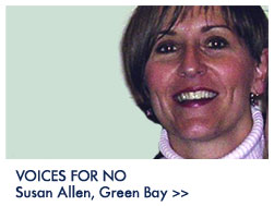 Susan Allen: A Voice for No