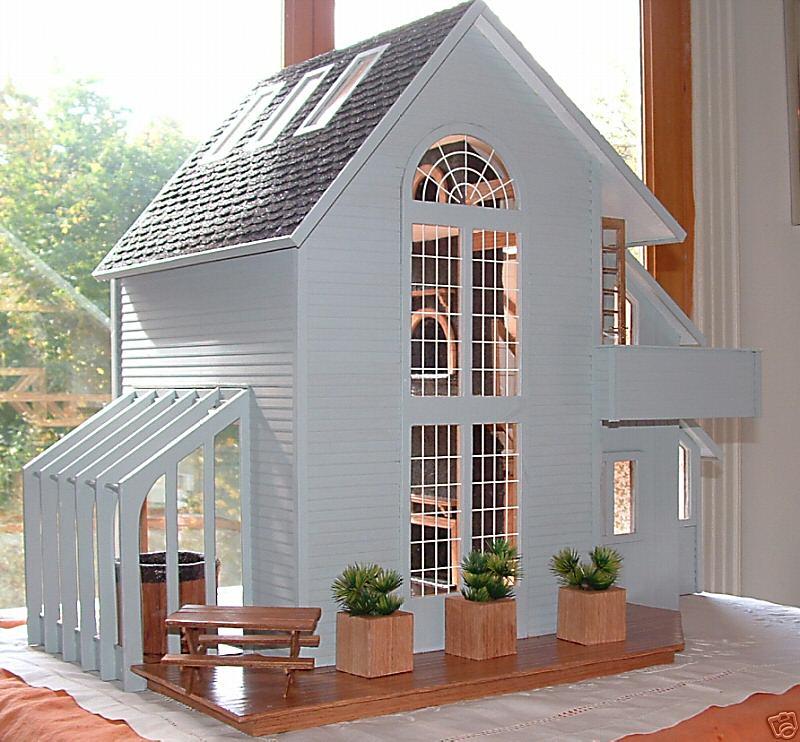 My Dream Dollhouse Beautiful Contemporary Dollhouse The