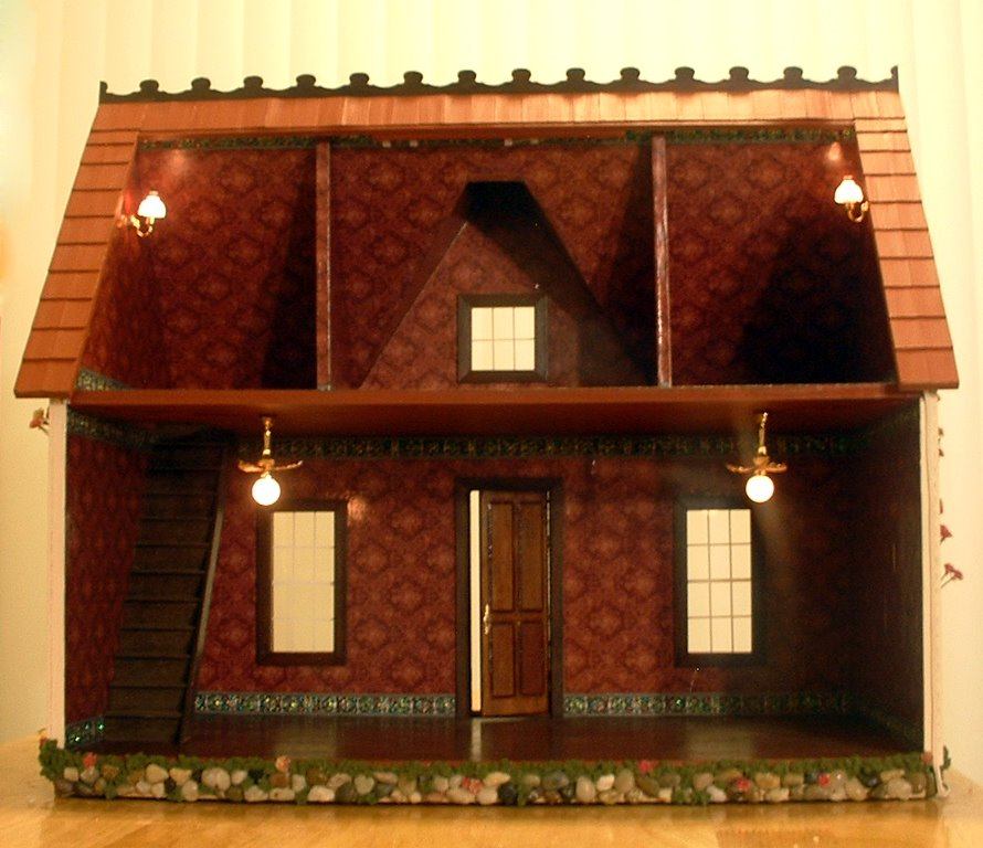 My dream dollhouse lights lights lights for Doll house lighting