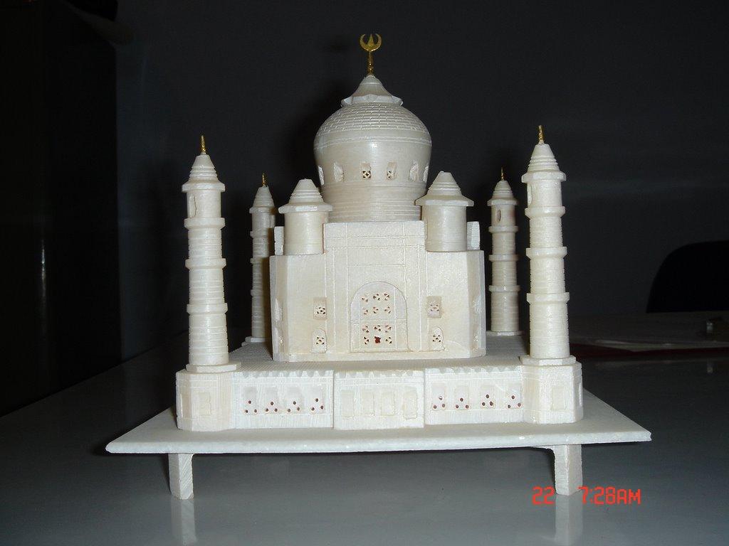 how to make model of taj mahal