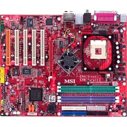 MSI 875P Neo-FISR  Motherboard