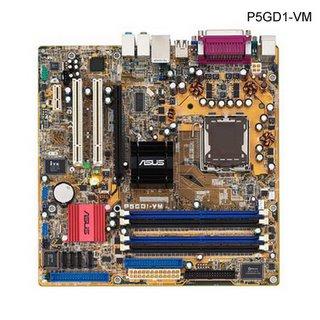 Asus P5GD1-VM Motherboard