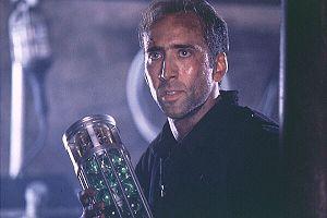Nicolas Cage Face Off Plane