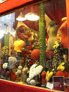 Florists in Los Angeles: A Unique Flower Shop Window Display