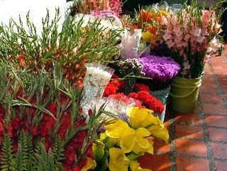 Flores para la elaboración de Silleta