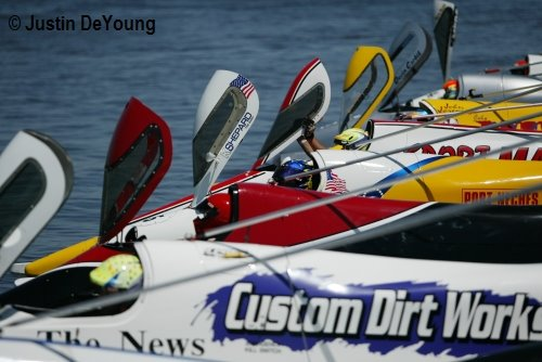 In Action Photography Champ Boat Series