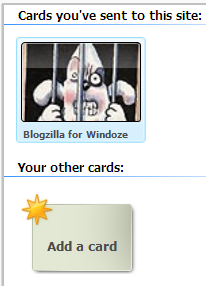 InfoCard selector