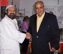 Al Zahir Sheik GG:: y Ricardo Ocampo en EXPOSER, Mayo 2006