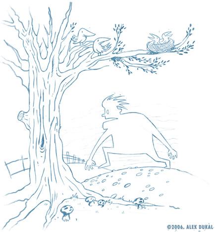 Boceto de El Nido