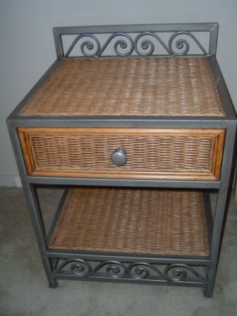 Barely Used Pier One Nightstand 2 Each 60 Both 100