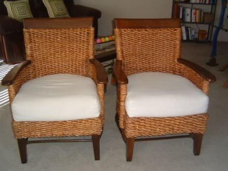 Chair pier one each pier one rattan chair