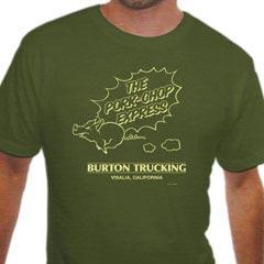 La camiseta de transportes de Jack Burton