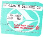 Boarding Pass Algier