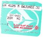 Boarding Pass Algier