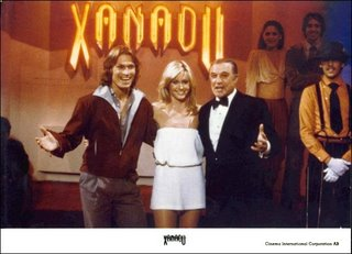 Xanadu, Olivia Newton-John, Gene Kelly, Michael Beck, Don Bluth, Robert Greenwald