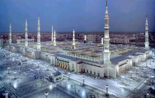 Masjid al-Nabawi (The Mosque of the Prophet), Medina, Saudi Arabia