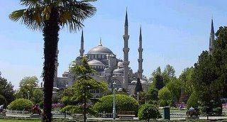 Sultan Ahmed Mosque (aka the Blue Mosque), Istanbul, Turkey
