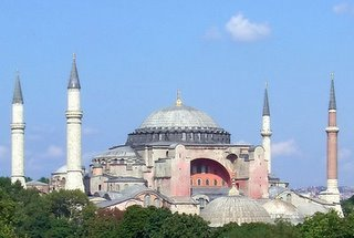 Hagia Sophia (The Church of the Holy Wisdom), Istanbul, Turkey