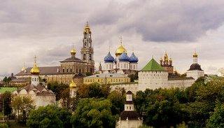 Troitse-Sergiyeva Lavra (The Trinity Lavra of St. Sergius), Sergiev Posad, Russia