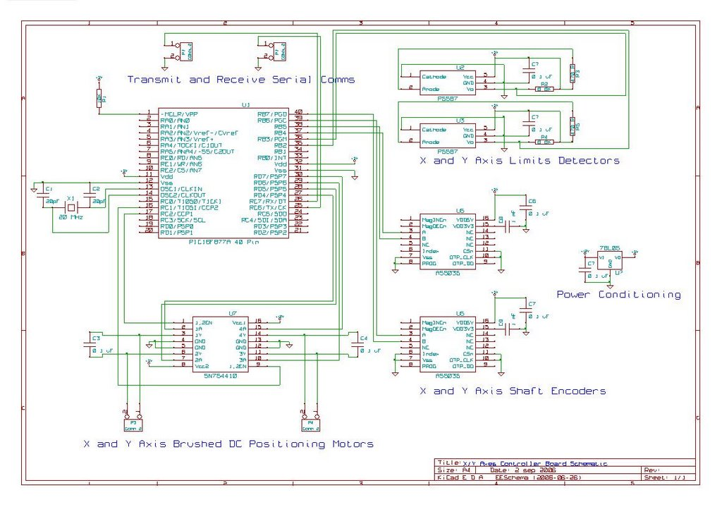 XY Axes Controller Board Schematic.1 wiring schematics 1787 ac gandul 45 77 79 119 Basic Electrical Wiring Diagrams at readyjetset.co