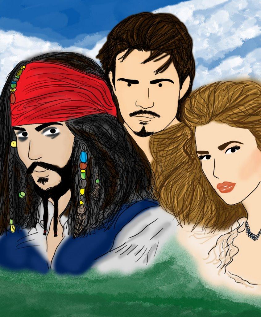 Pirates of the caribbean 2 cartoon
