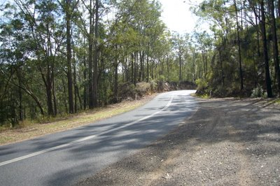 Good motorcycle roads Brisbane - Crows Nest
