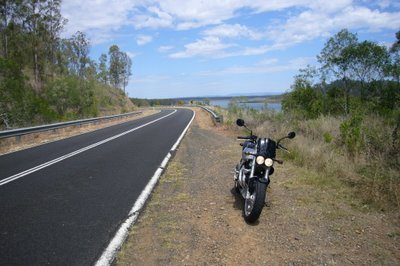 Good motorcycle roads Brisbane - Somerset Dam