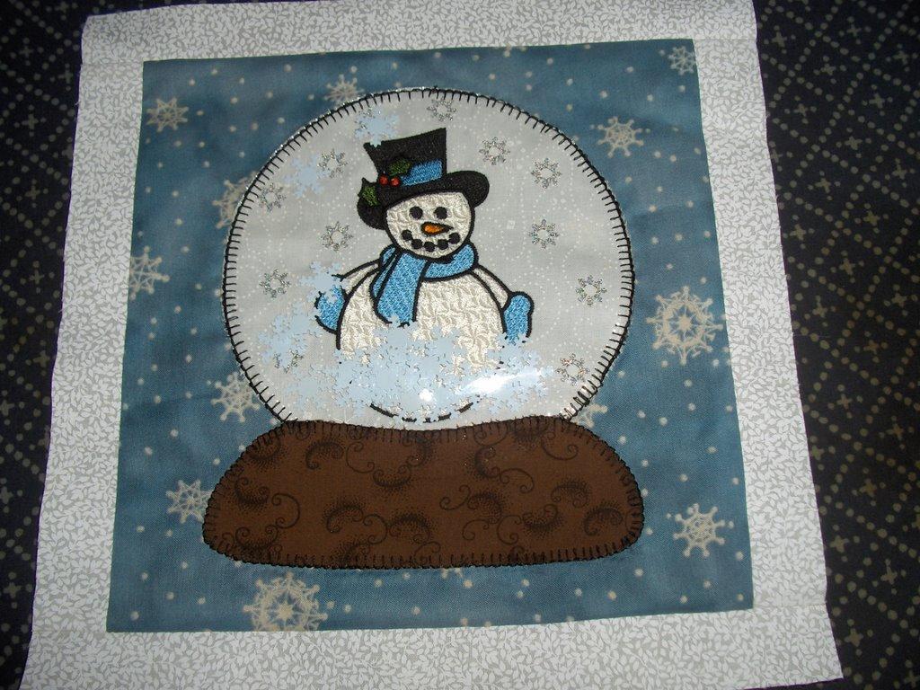 Sunshower Quilts: Snow Globe Quilt Block : globe quilt - Adamdwight.com